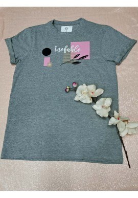 CAMISETA INEFABLE ROSA