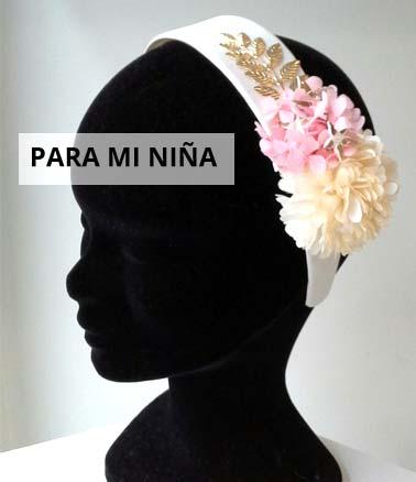 Tocados para niñas - Nuria Ordiales