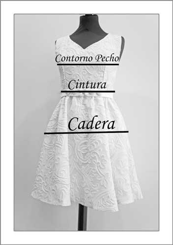 Maniquí de medidas - Nuria Ordiales